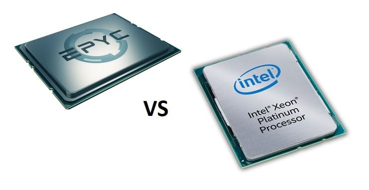 amd epyc vs intel xeon